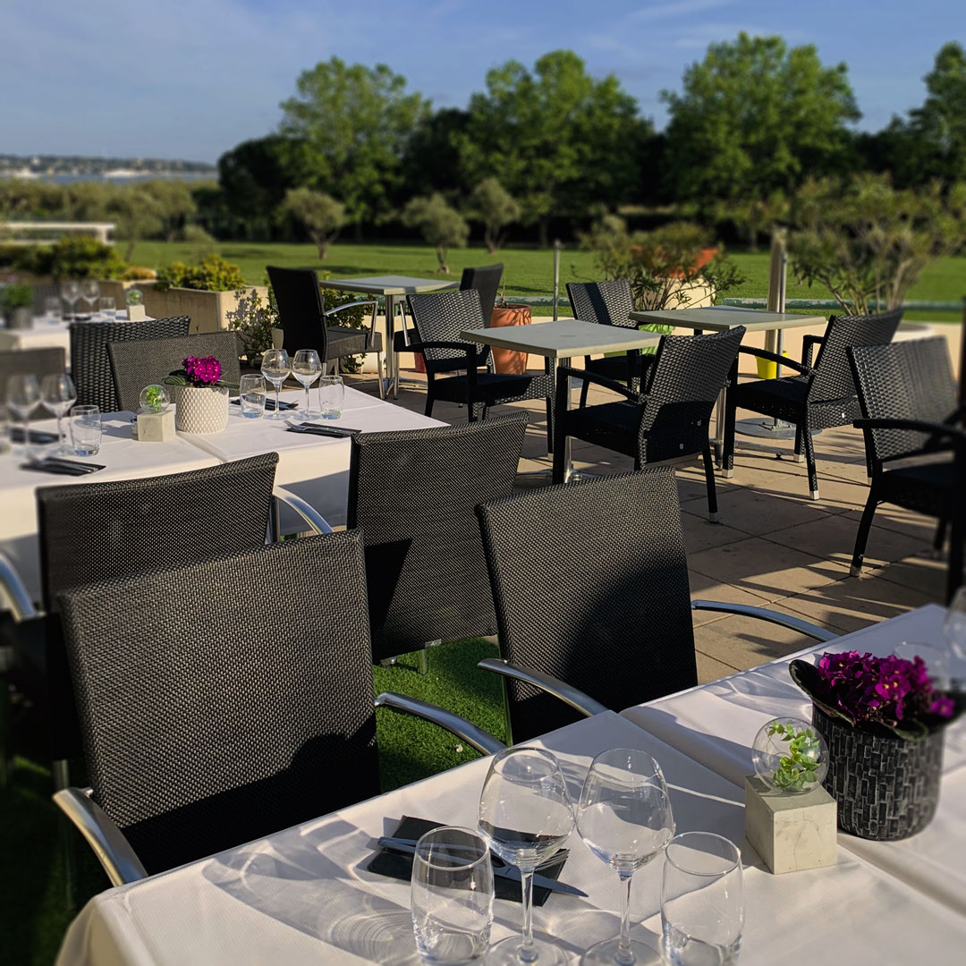 Le Cafe Jardin Antibes: Restaurant Côté Jardin Antibes